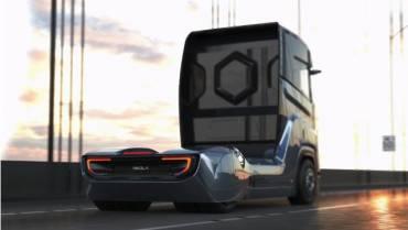Nikola unveils long-range hydrogen fuel cell lorry 'designed for Europe'