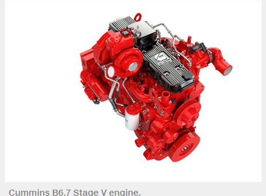 Cummins B6.7 2019 Stage V engine