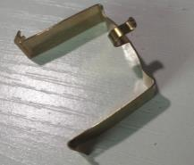 Front bracket for DC motor